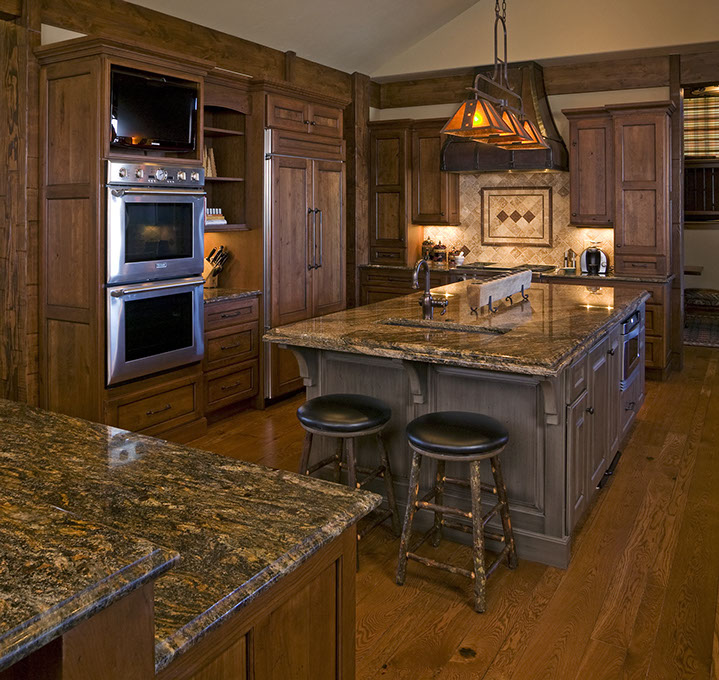 Being located in Steamboat Springs, we provide gorgeous ways to bring that mountainous feel straight to your kitchen