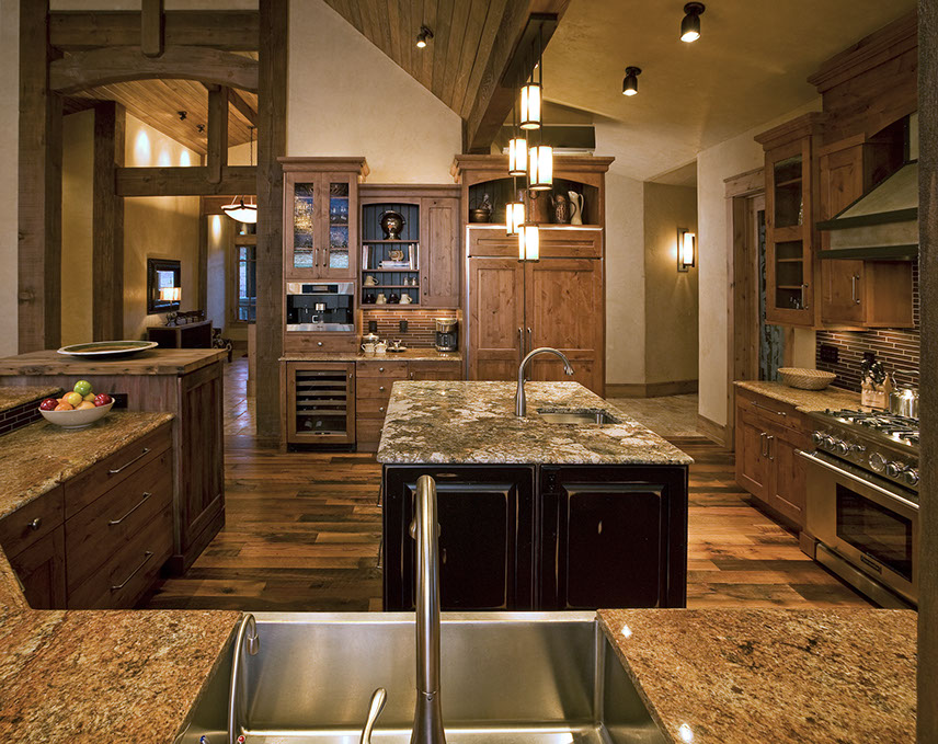 When designing your cabinet space we keep the architectural elements of your home in mind as guidelines on how to theme your kitchen.